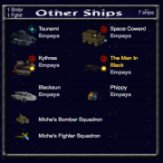 Pardus Ship Count Screenshot