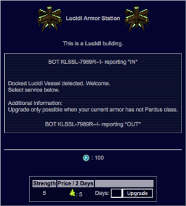 Lucidi Armor Station Screen (x5 Armor)